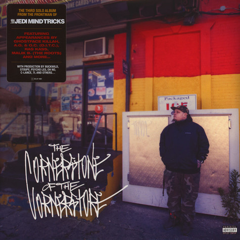 Vinnie Paz of Jedi Mind Tricks - The Cornerstone Of The Corner Store