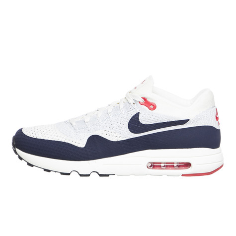60a39a2908 Nike. Air Max 1 Ultra 2.0 Flyknit (Sail / Obsidian / Wolf Grey / University  ...