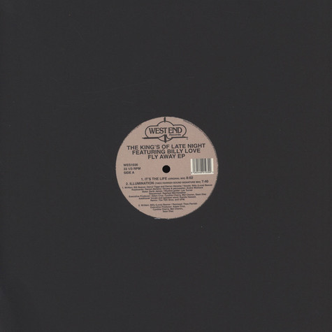 Kings Of The Late Night, The - Fly Away Theo Parrish Remix