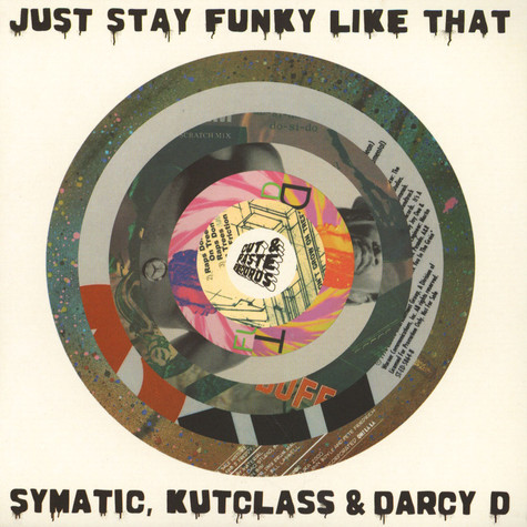 V.A. - Just Stay Funky Like That Orange Vinyl Edition