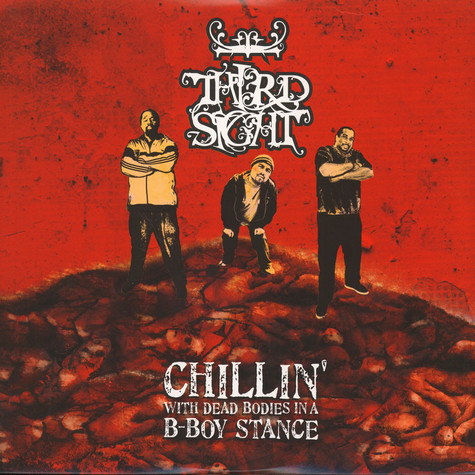 Third Sight - Chillin' With Dead Bodies In A B-Boy Stance Red & White Vinyl Edition