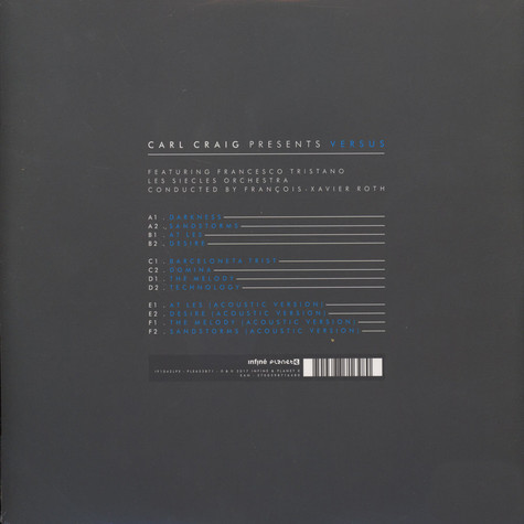 Carl Craig - Versus Limited Edition