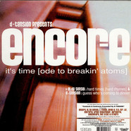 D-Tension Presents Encore - It's Time