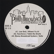 Da Philly Throwback - Volume 1