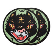 Sicmats - Black Cat By Frank Kozik Slipmat