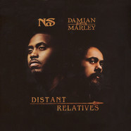 Nas & Damian Marley - Distant Relatives, Clear Vinyl Edition
