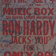 Ron Hardy - Muzic Box Classics Volume 1