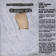 2 Many DJs - As Heard On Radio Soulwax