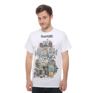 Gorillaz - Multi Boomboxes T-Shirt
