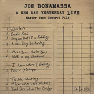 Joe Bonamassa - A New Day Yesterday-live