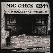 Max Tannone - Mic Check 1234! - Rap Vs. Punk