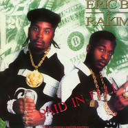 Eric B. & Rakim - Paid In Full - The Platinum Limited Edition Colored Vinyl Edition