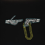 Run The Jewels (El-P + Killer Mike) - Run The Jewels Green Splattered Clear Vinyl Edition