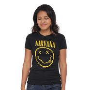 Nirvana - Smile Tissue Women T-Shirt