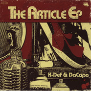 K-Def & DaCapo - The Article EP Red & Black Viny Edition