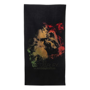 Bob Marley - Guitar Smoke Beach Towel