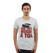 Stones Throw - Our Vinyl Weighs A Ton T-Shirt