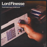 Lord Finesse - The SP1200 Project: 12-Bit Grit EP Black Vinyl Edition