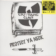 Wu-Tang Clan - Protect Ya Neck Split Yellow & Black Vinyl Edition