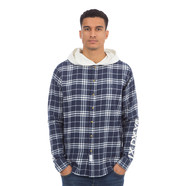 10 Deep - Work Hooded Flannel Shirt