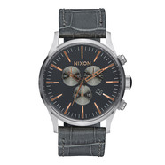 Nixon - Sentry Chrono Leather Watch