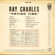 Ray Charles, - Crying Time