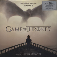 Ramin Djawadi - OST Game Of Thrones Season 5 Silver Vinyl Edition