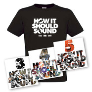 Damu The Fudgemunk - How It Should Sound Volume 3, 4 & 5 Colored Vinyl hhv.de Bundle