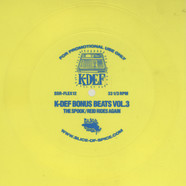 K-Def - Bonus Beats Volume 3 Flexi Disc