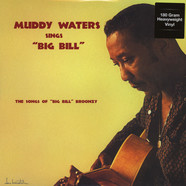 Muddy Waters - Muddy Waters Sings Big Bill 180g Vinyl Edition