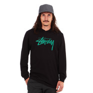 Stüssy - Stock Stamp Hooded Longsleeve