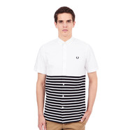 Fred Perry - Oxford And Pique Stripe Shirt