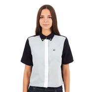Fred Perry - Boxy Colour Block Shirt