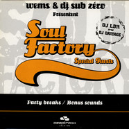 Wems & DJ Sub Zero - Soul Factory Special Guests