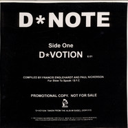 D*Note / Steve Reich - D*Votion / Come Out