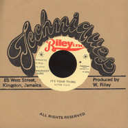 Alton Ellis / Vin Gordon - It's Your Thing / It's Your Thing