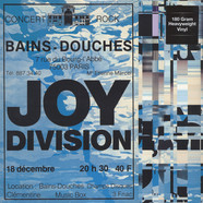 Joy Division - Live At Les Bains Douches, Paris December 18, 1979 180g Vinyl Edition