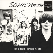 Sonic Youth - Live In Austin - November 26, 1988 180g Vinyl Edition