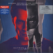 Hans Zimmer & Junkie XL - OST Batman V Superman: Dawn Of Justice Black Vinyl Edition