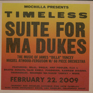 """Miguel Atwood-Ferguson - Mochilla Presents Timeless: Suite For Ma Dukes - The Music Of James """"J Dilla"""" Yancey"""