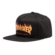 Thrasher - Flame Logo Structured Snapback Cap