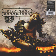 Front Line Assembly - Artificial Soldier Cherry Colored Vinyl Edition