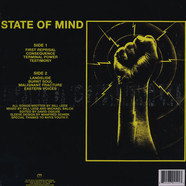Front Line Assembly - State Of Mind Yellow Vinyl Edition
