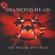 Diamond Head - All Will Be Revealed Limited Red Vinyl Edition