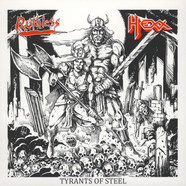Hexx / Ruthless - Tyrants Of Steel Volume 1 Colored Vinyl Edition