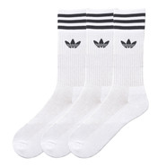 adidas - Solid Crew Socks (Pack of 3)