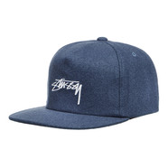 Stüssy - Smooth Stock Melton Strapback Cap