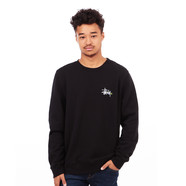 Stüssy - Basic Logo Applique Crewneck Sweater