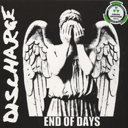 Discharge - End Of Days Neon Orange Vinyl Edition