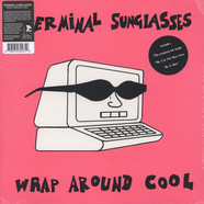 Terminal Sunglasses - Wrap Around Cool Black Vinyl Edition